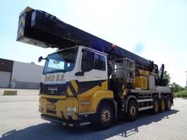 mounted boom lift truck MAN 50-480 10X4 2009