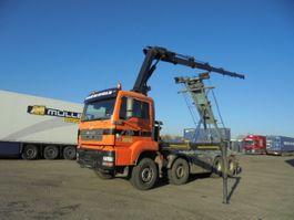 container truck MAN TGA 35 8X4 2006
