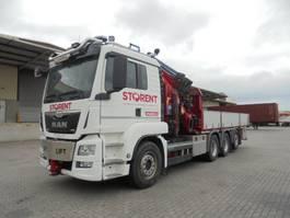 crane truck MAN TGS 35 8X4 TRIPLE 2016
