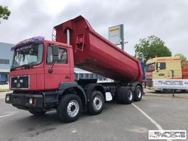 tipper truck > 7.5 t MAN 41.473 Full steel - Big axles - Manual - 6 cyl. - Mech pump 1999