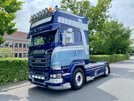 cab over engine Scania R 4X2 Luft - Luft / Topline SHOWTRUCK 2016