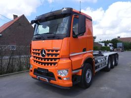 container truck Mercedes-Benz Arocs tridem met containersysteem 2014