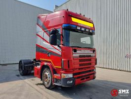 cab over engine Scania 164 480 Topline manual 2002