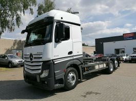 swap body truck Mercedes-Benz Actros 6x4, BDF, BigSpace, Euro6, Retarder 2014