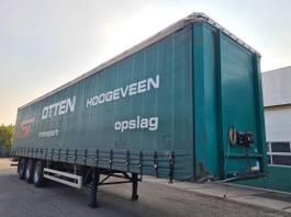 sliding curtain semi trailer Pacton Schuifzeil / Schuifdak Inwendig: 1362 x 250 x 270 2004