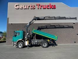 tipper truck > 7.5 t Mercedes-Benz Axor 4X2 + MEILLER 3 ZIJDIGE KIPPER/TIPPER + HIAB 122 DS- HIDUO KRAAN/KRAN/CRANE/GRUA 2013
