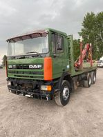 platform truck DAF 95 2003