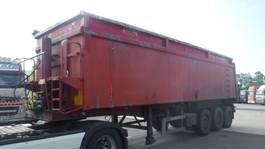 tipper semi trailer LAG 42 m³ kipper 2006