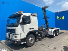 container truck Volvo FM 6x4, EURO 2, Manual, Steel suspension 2001