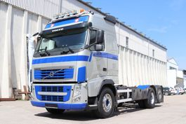 chassis cab truck Volvo FH 500 6x2 E5 Lenkachse Wechsel 2012
