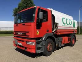 tank truck Iveco Eurotech 190E24    Tank 13000 Liter 2000