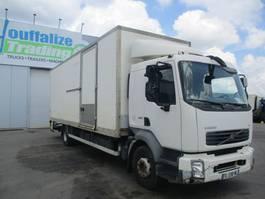 closed box truck Volvo FL box truck 2007