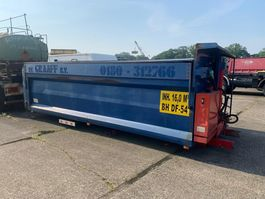 tipper system Hyva Tipper box with hydraulic covers, complete