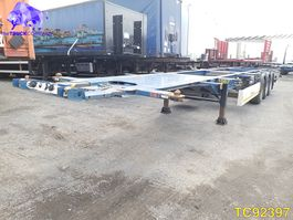 container chassis semi trailer Krone Container Transport 2013