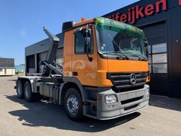 container truck Mercedes-Benz Actros 6X2 - 15 TONS CONTAINER HOOKSYSTEM 2007
