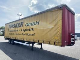 sliding curtain semi trailer Krone SZP18  MegaLiner 2003