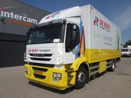 closed box truck Iveco AD190S27/P LNG !! KLIMA, INTARDER, ZF16 MANUAL 2012