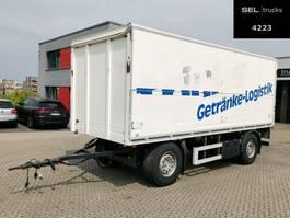beverage full trailer Ackermann PA-F 18/6,6E Anhänger / Ladebordwand / Böse