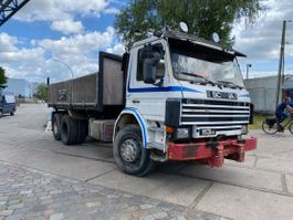 other trucks Scania 113.320/360 Tipper 6x2 But 10 tires.Full Steel 1989