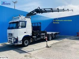 platform truck Volvo 6x2, Hiab, Remote control, Manual 2005