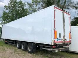 closed box semi trailer Weca LBW 2005