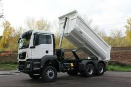 container truck MAN 33.430 6x6 /Mulden-Kipper EuromixMTP 2020