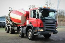 concrete mixer truck Scania P 8X4 9m3 Trommel 2007