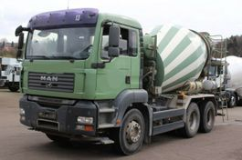 concrete mixer truck MAN TGA 26 /6X4 7m³ Trommel 2008