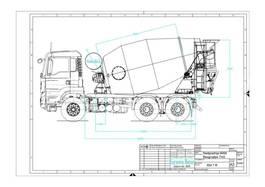 concrete mixer truck MAN TGS 33 6x4 / EuromixMTP EM 7m³ EURO 6 2020