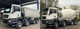 container truck MAN 41.430 8x4 WECHSELSYSTEM KIPPER+MISCHER 2019