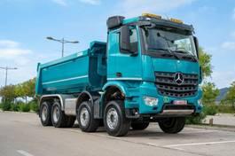 container truck Mercedes-Benz 4142 8X4 MuldenKipper Euromix EMT 16m 2020