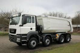 container truck MAN 41.400 8x4 / Kipper / EURO 5 2020