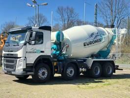 concrete mixer truck Volvo FM 4108x4 / EuromixMTP EM 9m³ EURO6 Vermietung