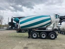 feed semi trailer EUROMIX MTP 12m³ Betonmischer 2020