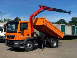 tipper truck > 7.5 t MAN TGM 18 MAN TGM 4x2 / Palfinger PK 11.001 SLD 2020