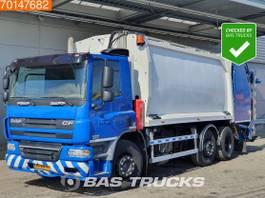 garbage truck DAF CF 75 6X2 NL-Truck Manual Lenkachse Euro 5 Geesink Aufbau 2008