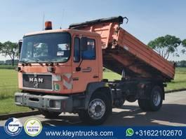 tipper truck > 7.5 t MAN 18.264 M90 4x2 full steel 1998