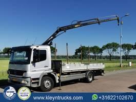 platform truck Mercedes-Benz crane 8tm 2008
