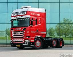 cab over engine Scania R520 V8 TOPLINE 6X2 MANUAL GEARBOX RETARDER 2013