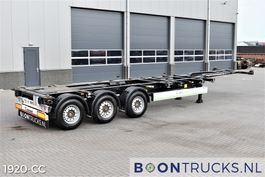 container chassis semi trailer Krone SD   2x20-30-40-45ft HC *  LIFT AXLE * DISC BRAKES * APK 01-2022 2018