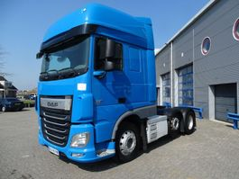 cab over engine DAF XF 106 / SUPER SPACECAB / AUTOMATIC / 6X2 / EURO-6 / 2016 2016