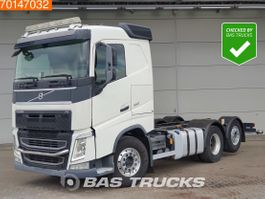 chassis cab truck Volvo FH 6X2 Retarder 6x2*4 Lift+Steering Axle ADR 2013