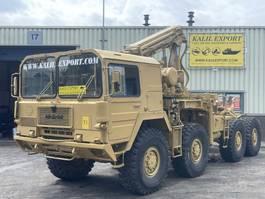 crane truck MAN KAT 8x8  V10 Crane Good Condition 1985