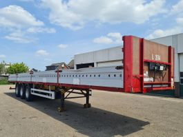flatbed semi trailer Pacton Platform met aluminium borden 1999