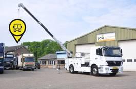crane truck Mercedes-Benz Axor . MOBILE SERVICE TRUCK.ADR. 2011