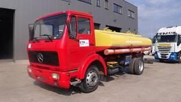 tank truck Mercedes-Benz SK 1313 (FULL STEEL SUSPENSION / 9200 L TANK / 2 COMPARTMENTS) 1991