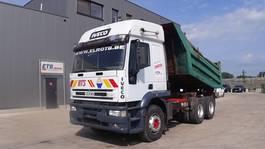 tipper truck > 7.5 t Iveco Eurotrakker 26 E 42 (FULL STEEL SUSPENSION / MANUAL PUMP / MANUAL GEARBOX / 10 TIRES) 1999