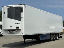 refrigerated semi trailer Schmitz Cargobull THERMO KING SLX 300 / DISC BRAKES / LIFT-AXLE / FLOWER WIDTH 2014