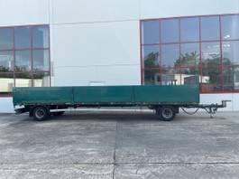 drop side full trailer Ackermann PA-F.18/9.3 TZ BPA 2 Achs Jumboanhänger 9,20 m lang-- Wenig Benutzt -- 2013