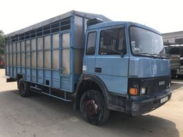 closed box truck Iveco 115-14 **6CYL-FULL STEEL-FRENCH TRUCK** 1987